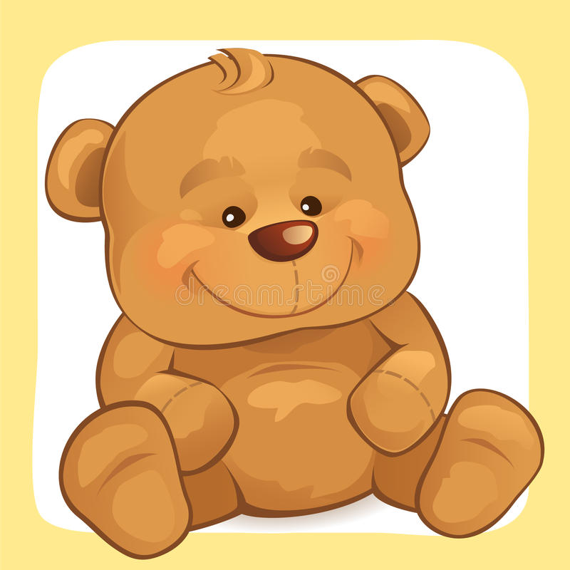 Teddy Bear vector illustratie