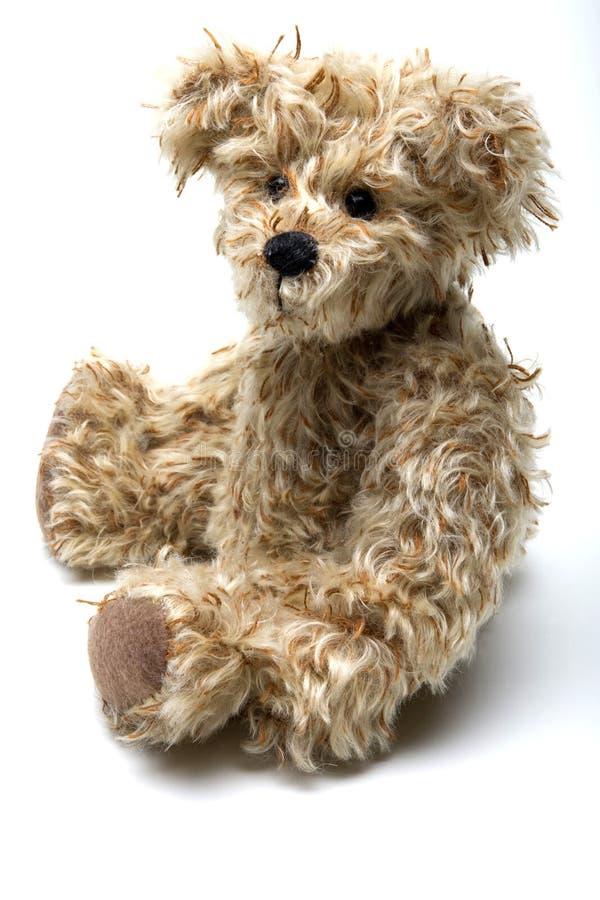 Teddy Bear. A teddy bear isolated on a white background stock photography