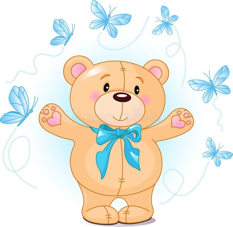 Download Teddy Bear stock vector. Illustration of line, illustration - 9751969