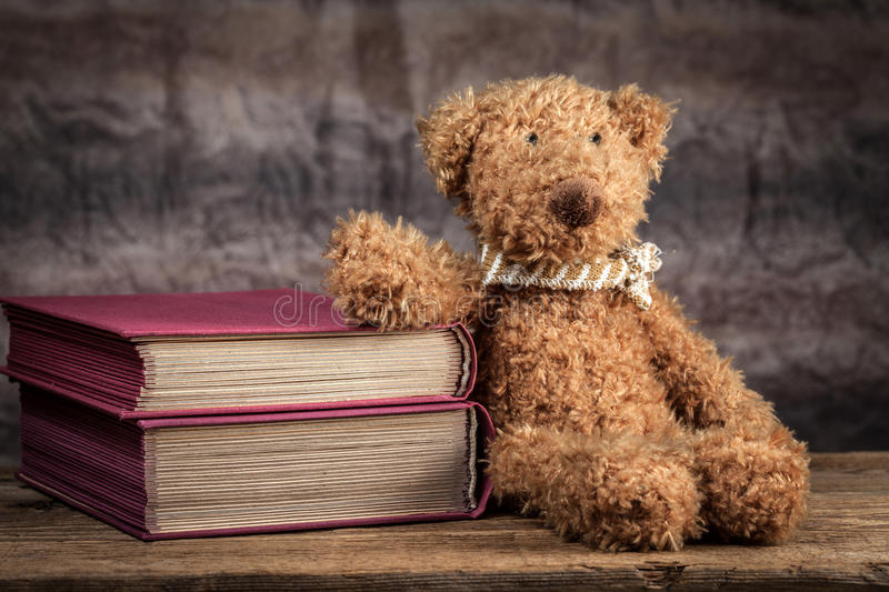 Download Teddy bear. stock photo. Image of nobody, wooden, brown - 58347496