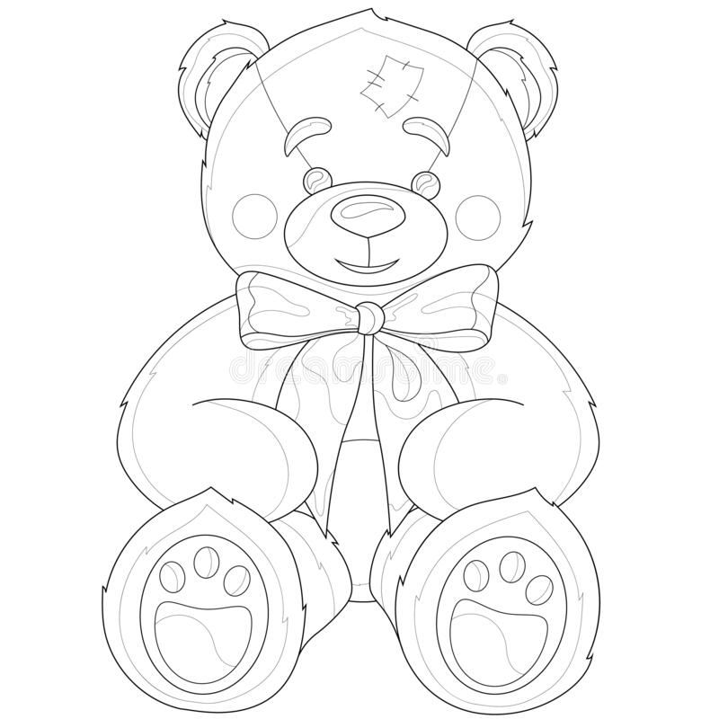 - Coloring Teddy Bear Stock Illustrations – 1,545 Coloring Teddy Bear Stock  Illustrations, Vectors & Clipart - Dreamstime