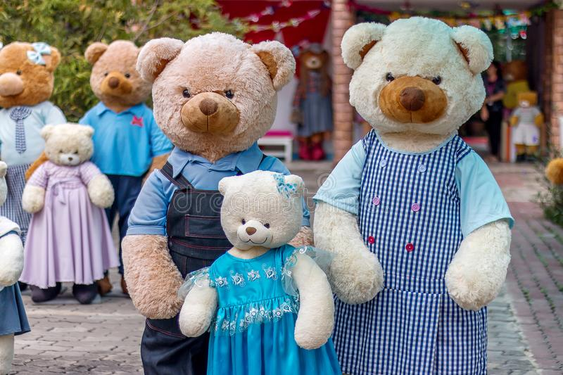Teddy Bear Family photographie stock