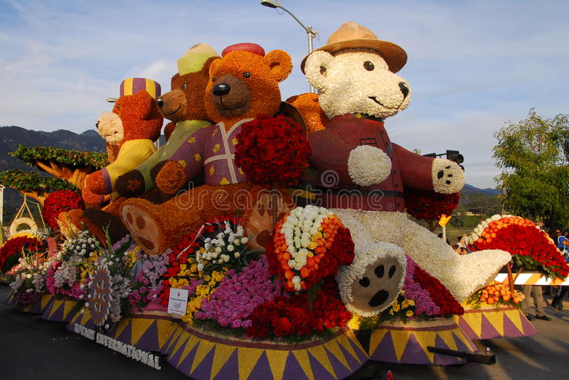 Download Teddy Bear Float At The 122nd Tournament Of Roses Editorial Stock Photo - Image: 17731263