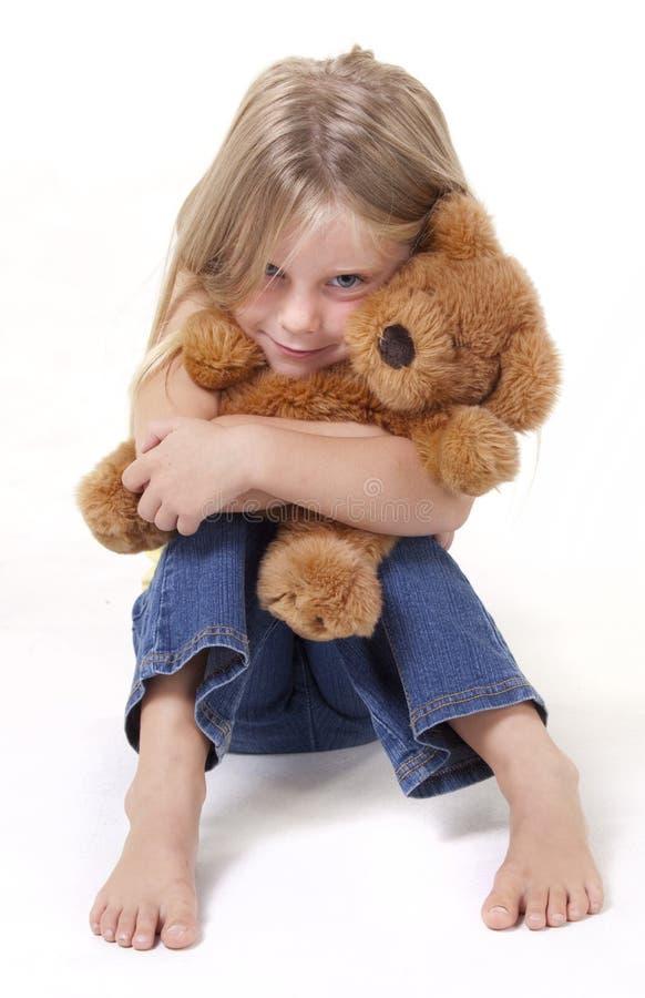 Teddy Bear Hug Stock Photography