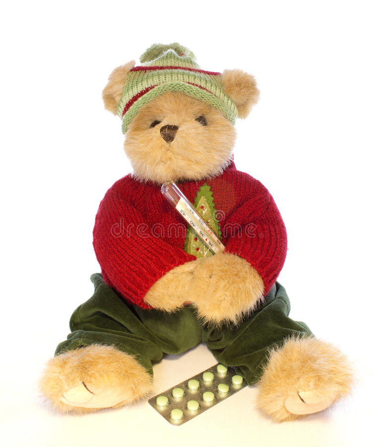Teddy bear ill stock photo image of teddy cold bear 30411568 download teddy bear ill stock photo image of teddy cold bear 30411568 altavistaventures Images
