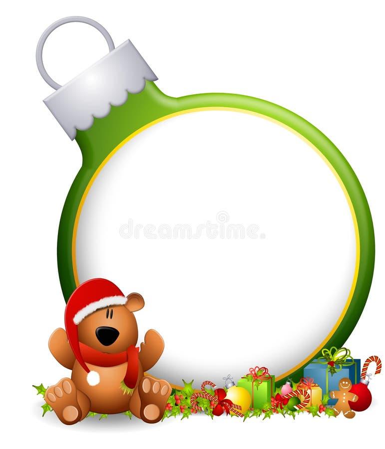 Teddy Bear Ornament Background royalty free illustration