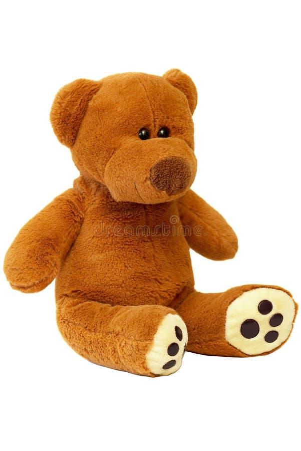 Teddy bear (path isolated) stock photo