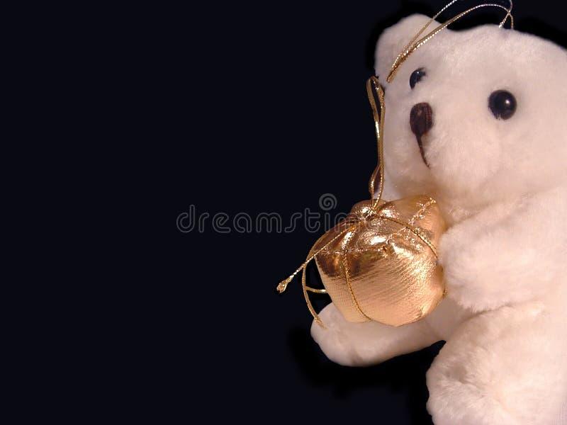 teddy bear prezent zdjęcie stock