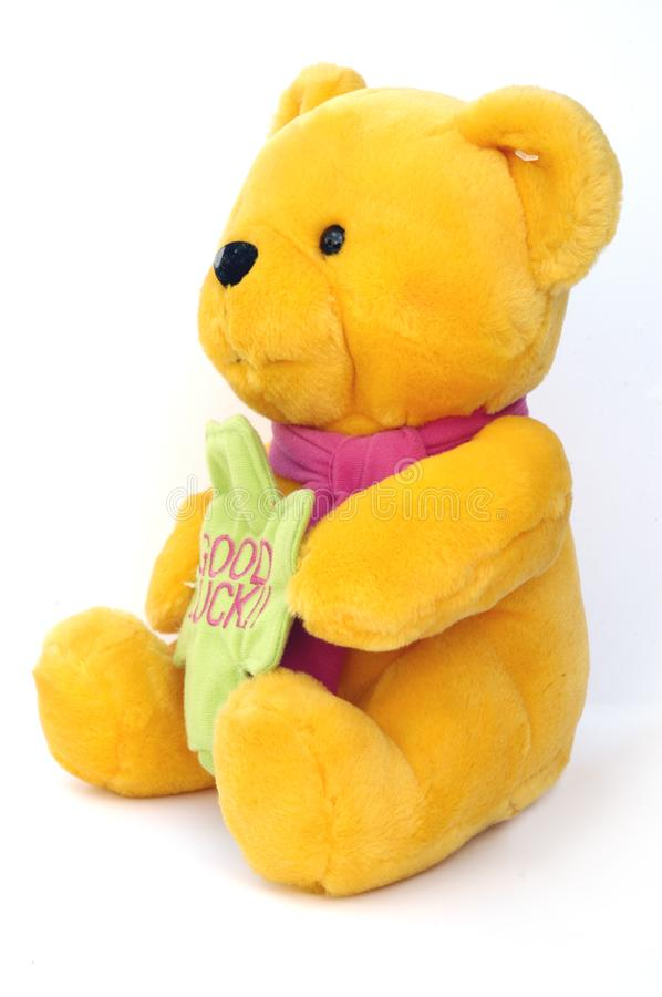 Teddy bear side stock photography