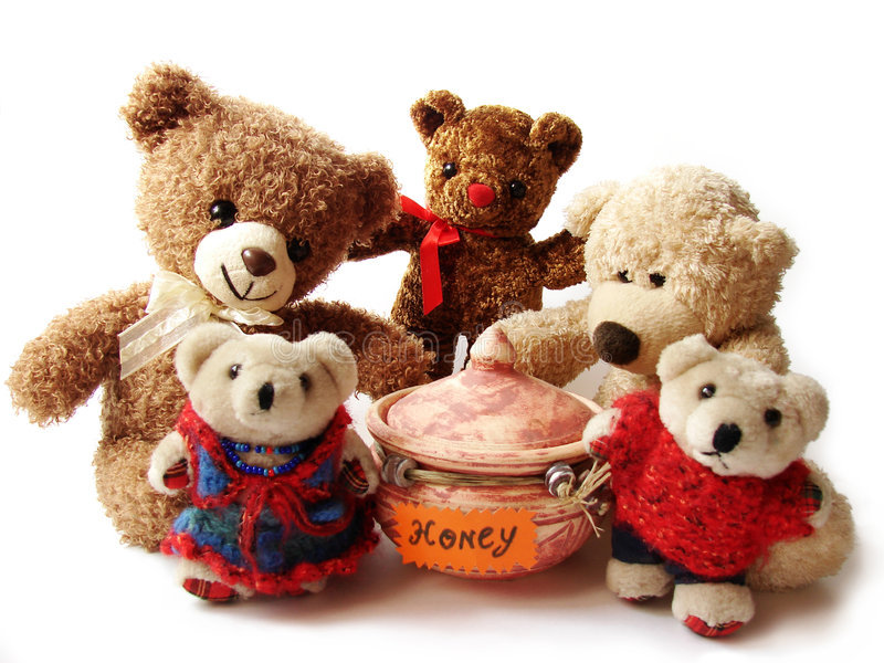 Download Teddy-bears & Honey Stock Images - Image: 2550264