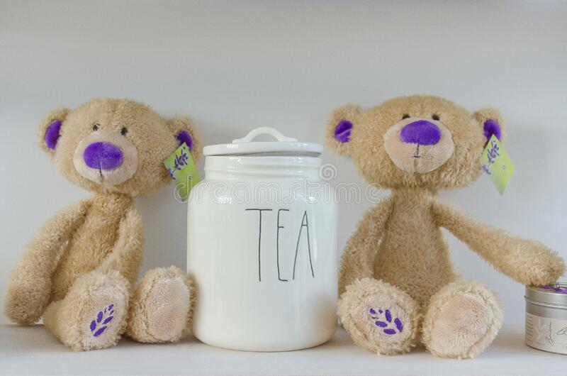Teddy Bears And Tea Free Public Domain Cc0 Image
