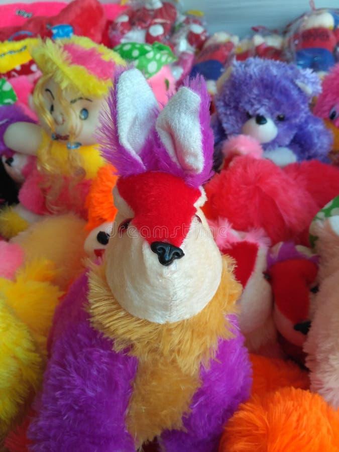 Teddy stuk speelgoed royalty-vrije stock afbeeldingen