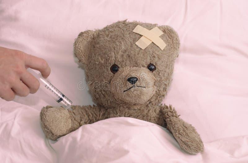 teddy szpitala obraz royalty free
