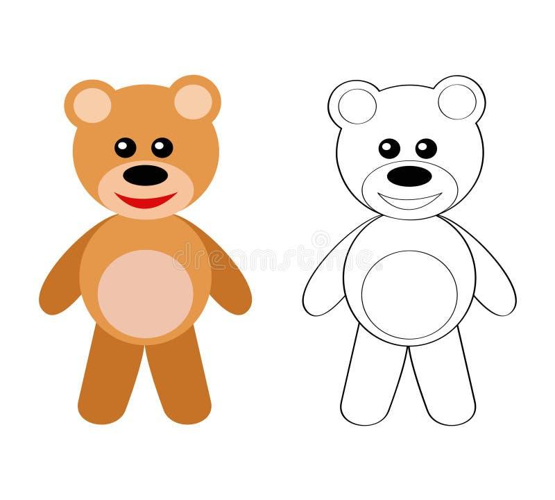 Teddybär stock abbildung