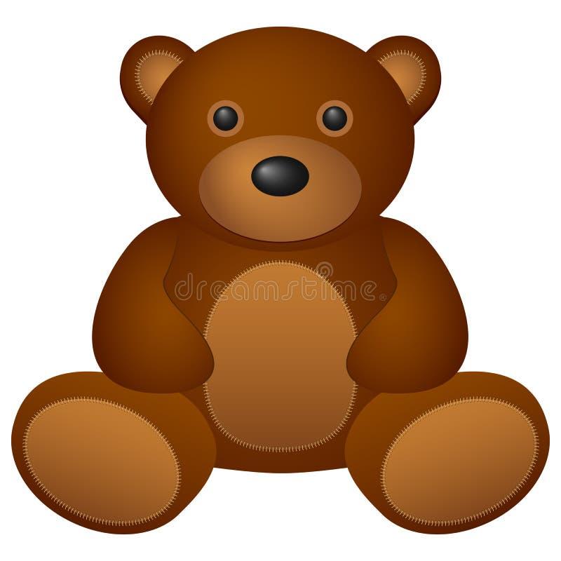 Teddybär lizenzfreie abbildung