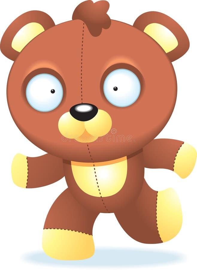 Download Teddybär vektor abbildung. Illustration von teddy, angefüllt - 9079550