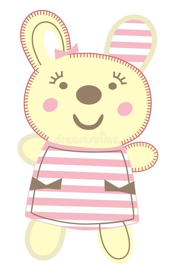 Teddybär bear_girl stockbild