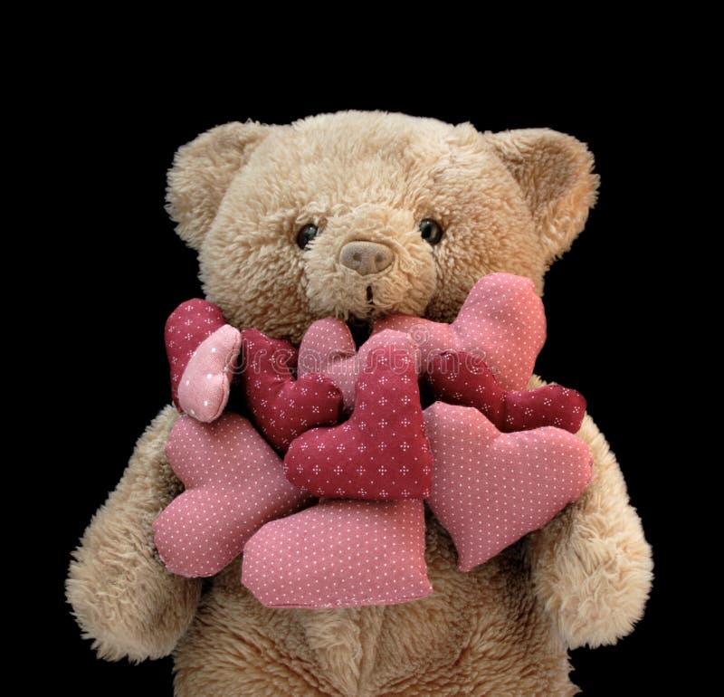 Teddybär mit Inneren lizenzfreies stockfoto
