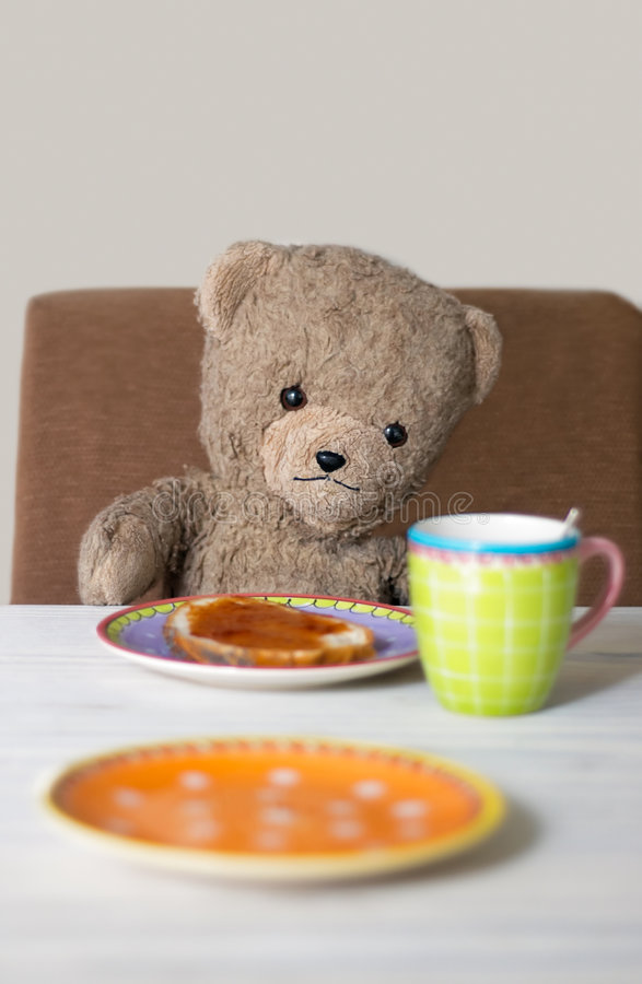 Teddybär Morgens Stockbilder