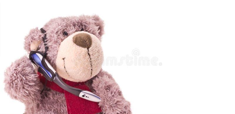 Teddybärassistent stockfotos