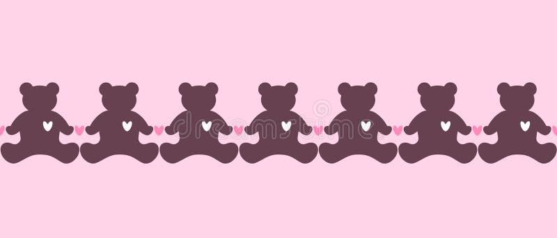 Teddybären lizenzfreie abbildung