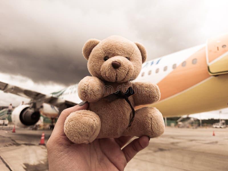 Teddybäreskapade stockfotos