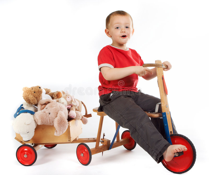 Teddybärtransport lizenzfreie stockfotografie