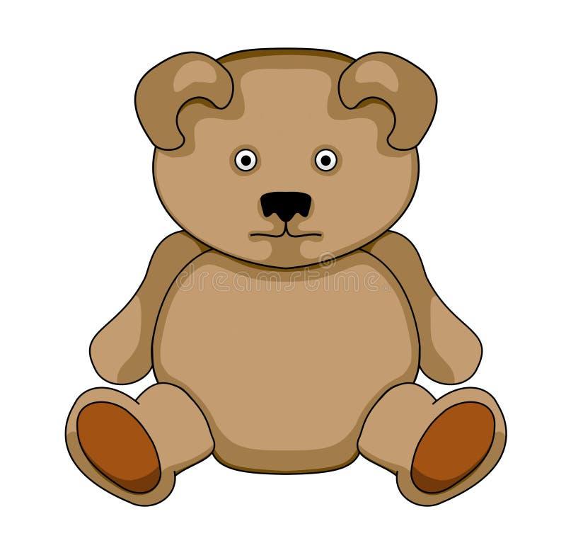 Teddybear ilustração royalty free