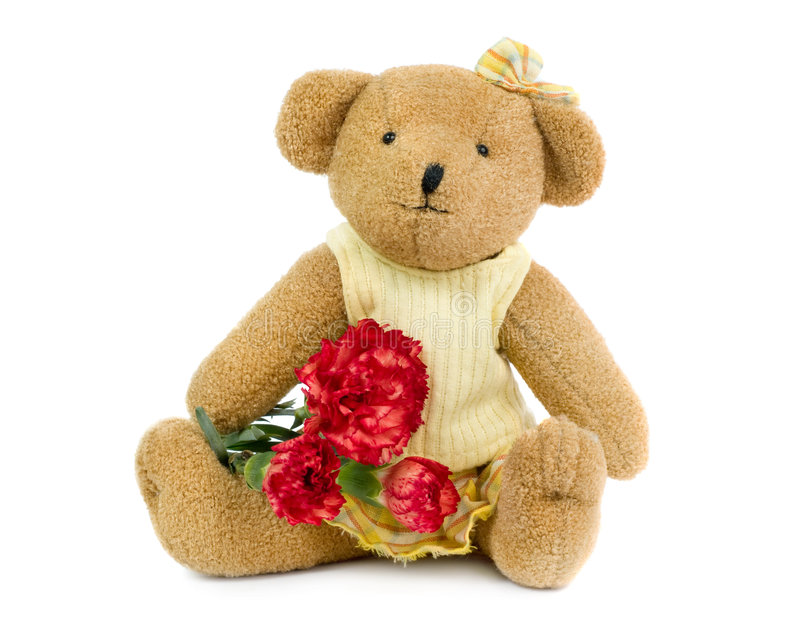Download Teddybear girl stock image. Image of stuffed, bear, innocent - 8526831