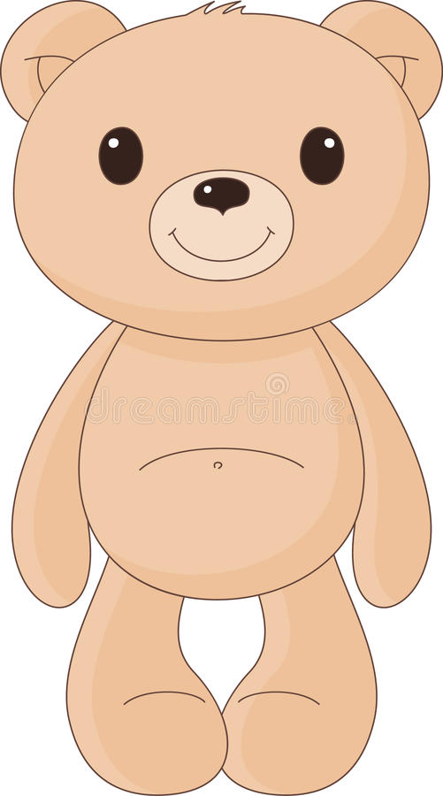 Teddybeer vector illustratie