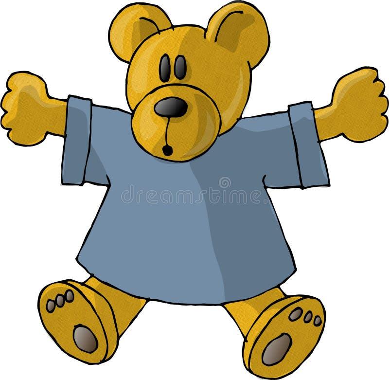 Download Teddybeer stock illustratie. Afbeelding bestaande uit gevuld - 44827