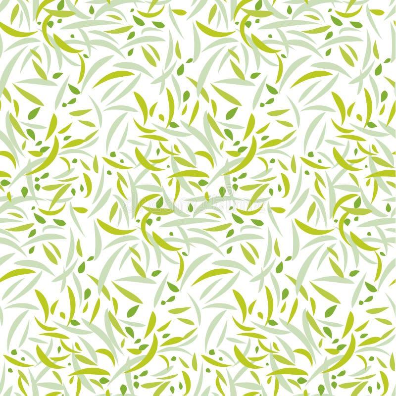 Teder bloemenbloemblaadje herhaalbaar motief vector illustratie