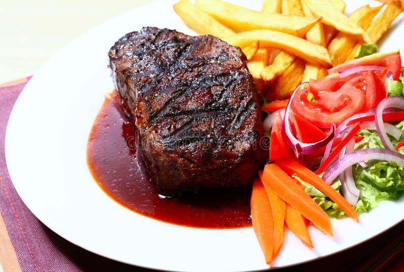 Teder lapje vlees royalty-vrije stock foto's