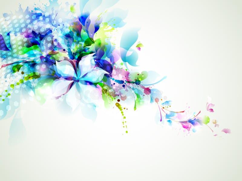 Tedere bloemen royalty-vrije illustratie