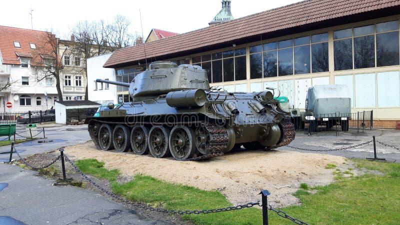 Tedesco anziano Panzer fotografie stock