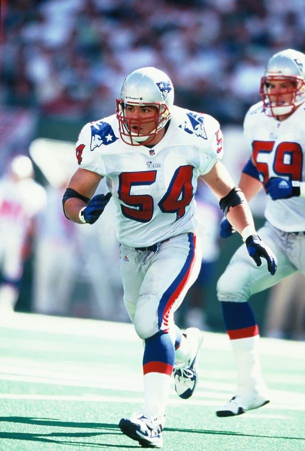 Tedy Bruschi New England Patriots. New England Patriots Linebacker Tedy Bruschi #54 royalty free stock photography
