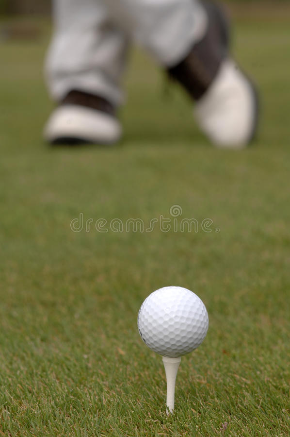 Download On the tee stock image. Image of club, shoes, golf, boomer - 9881117