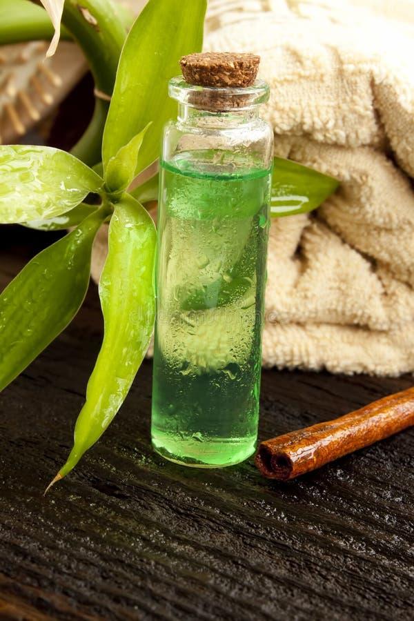 Tee-Baum-Wesentliches stockfotos