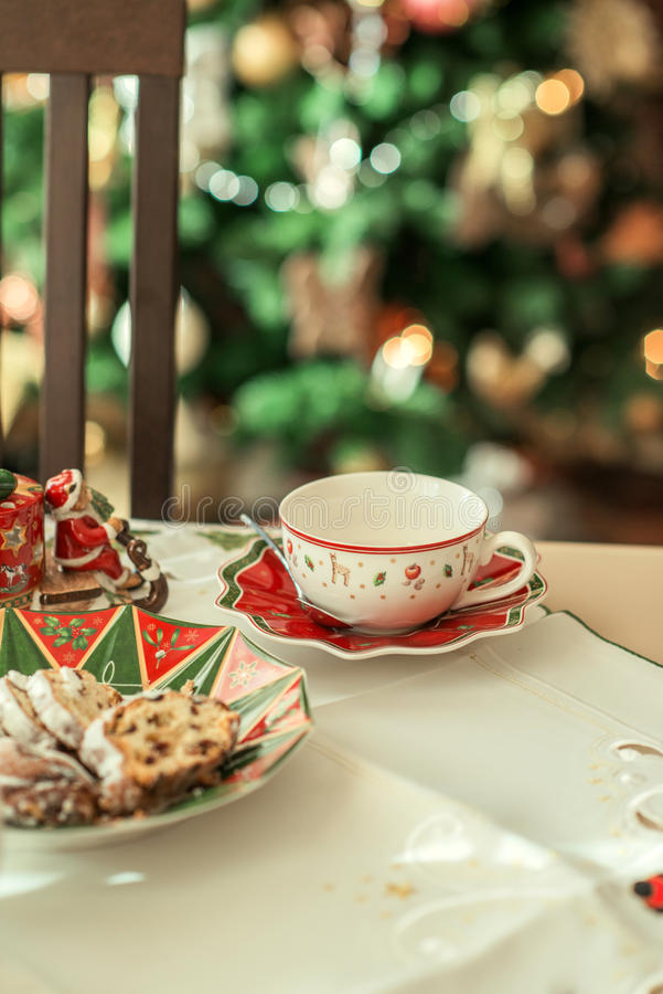 Tee Cup und Saucer lizenzfreies stockbild