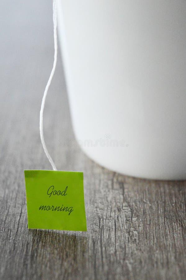 Tee für guten Morgen stockfoto