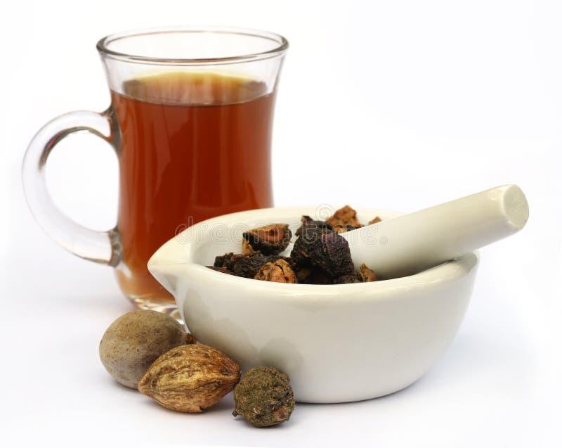 Tee gemacht von Triphala lizenzfreie stockfotos