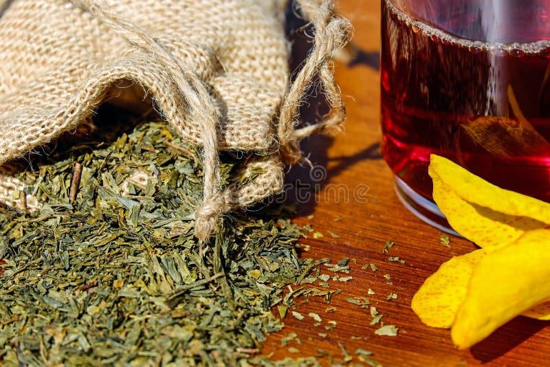 Tee, Herbs, Mix, Medicinal Herbs stock image
