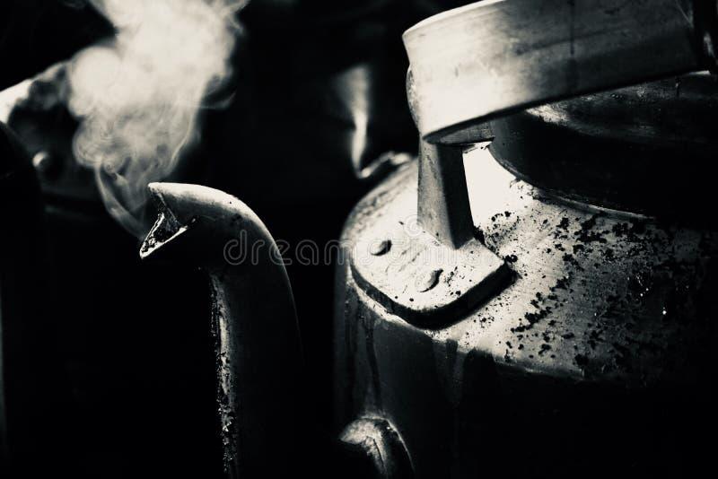 Tee-Kessel stockfotos