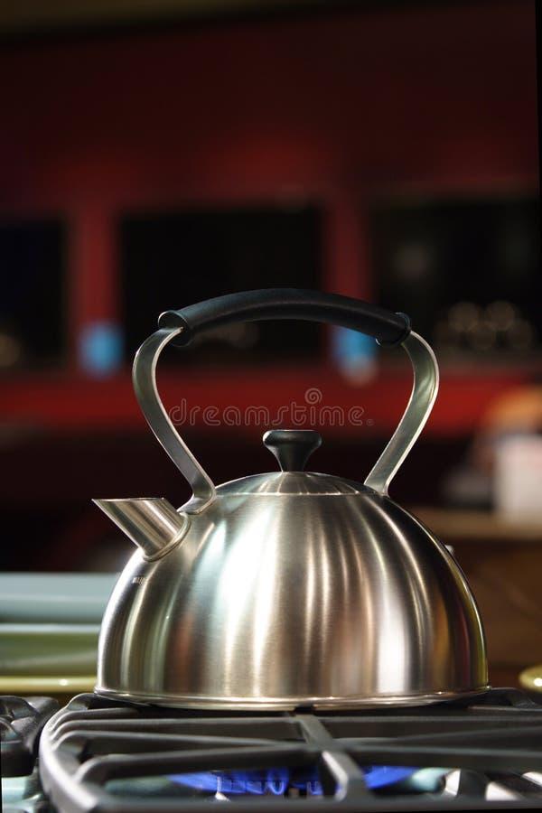 Tee-Kessel lizenzfreie stockfotografie