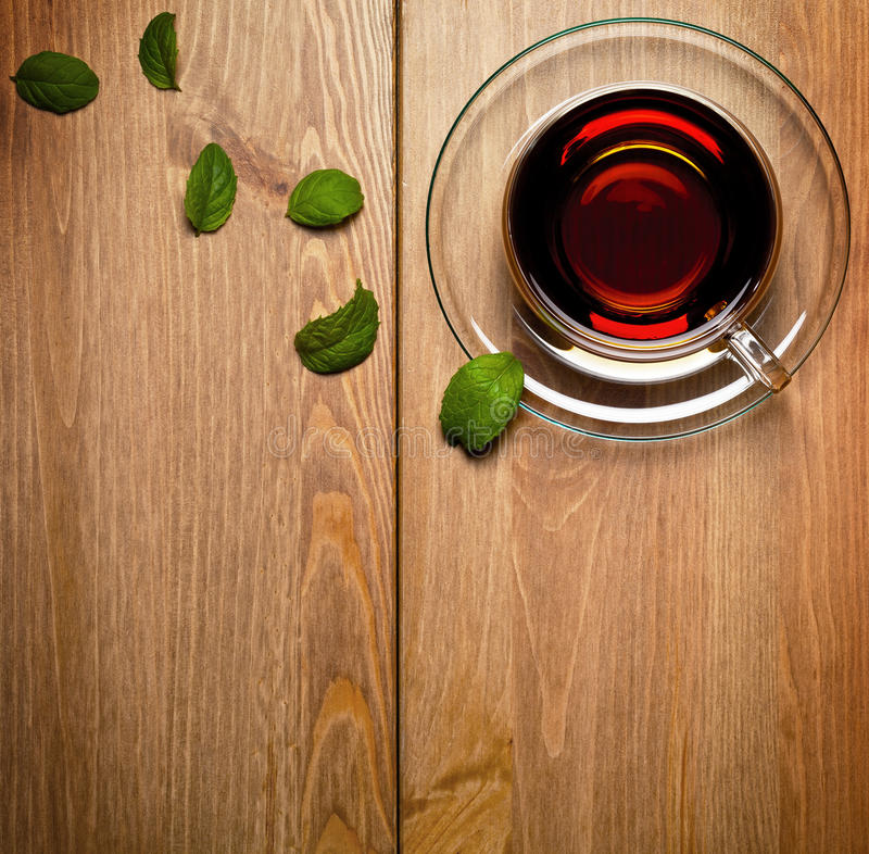 Tee-Minze lizenzfreies stockfoto