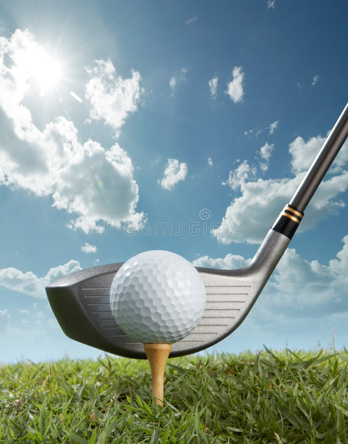 Free Tee Off Royalty Free Stock Image - 8336846