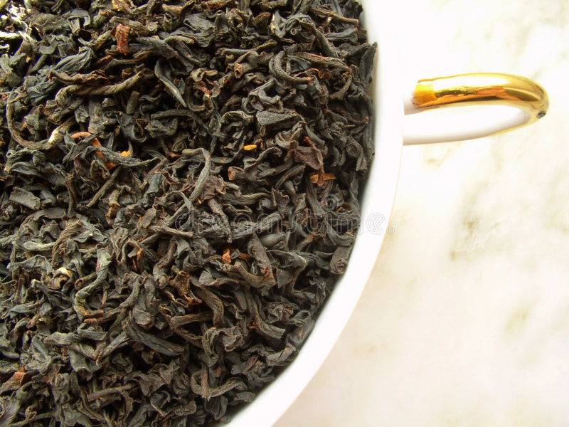 Tee - Schwarzes lizenzfreie stockbilder