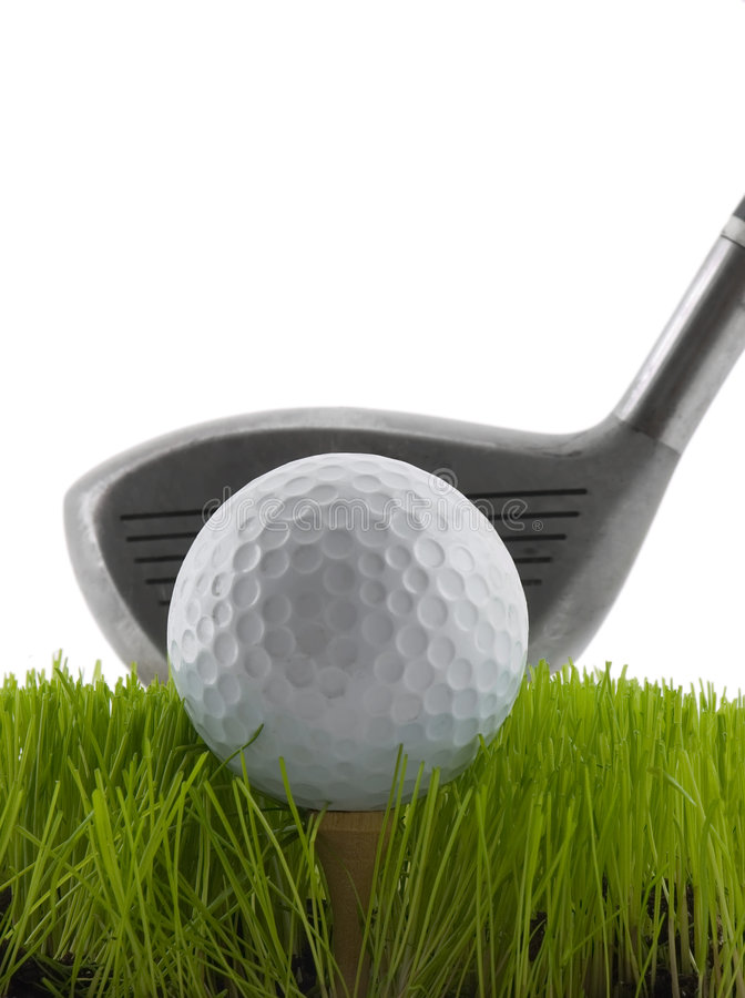 Tee Shot stock photography