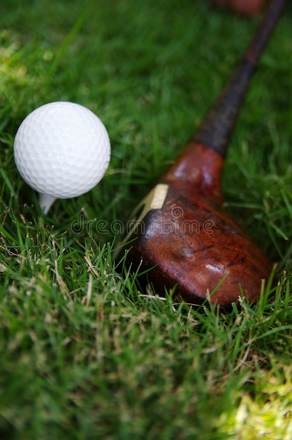 Tee time stock photography