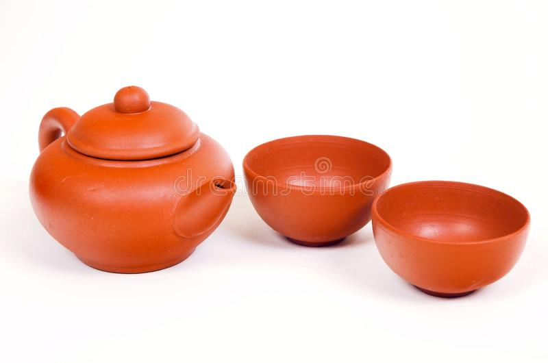 Tee-Topf stockfoto
